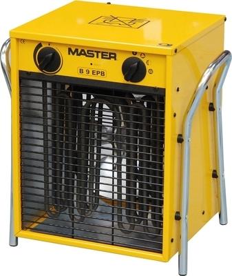 Topidlo elektrické s ventilátorem B 9 EPB 9 kW Master