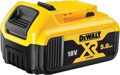 Nasunovací baterie Dewalt 18 V XR Li-Ion s kapacitou 5 Ah DCB184-XJ