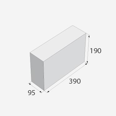 Tvárnice PRESBETON FACE BLOCK H x  4/9/B okrová