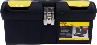 """Box na nářadí 16"""" série 2000 s kovovými přezkami Stanley - 1"""