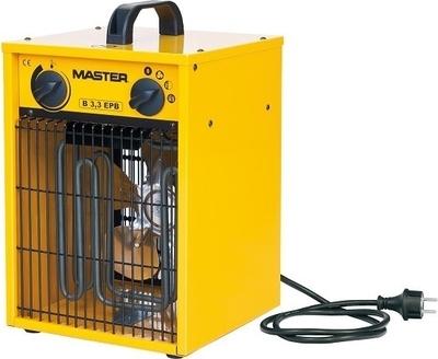 Topidlo elektrické s ventilátorem MASTER B 3,3 EPB 3,3 kW
