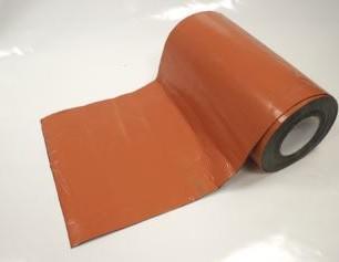 Těsnící pás ke komínu 30cm červená