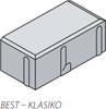 BST dlažba KLASIKO 20x10cm tl.8cm přírodní - 1/3