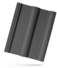 Classic Taška základní 1/1 Břidlicově černá  (pal/258ks) - 1/2