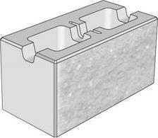 Tvárnice CSB-CSBlok jednostranně štípaná s prořezem 40x30x30 cm javor