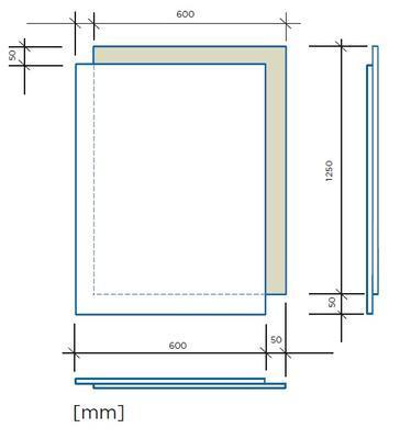 Rigips podlahový dílec Rigistabil E25 600 x 1250 x 25