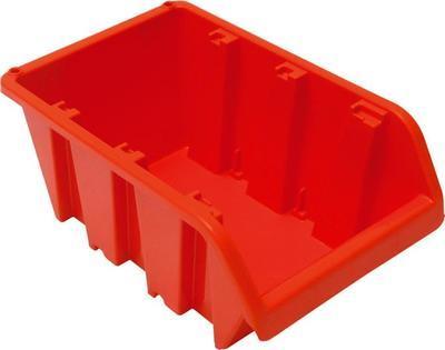 Box úložný stohovací NP8 198 x 118 x 90 mm, oranžový