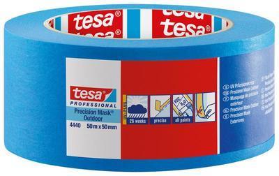 Páska maskovací krepová Tesa 50 m x 50 mm modrá