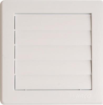 Větrací mřížka gravit. VM 175x175 G/125 Bílá  (233)