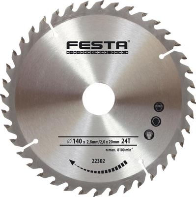Kotouč pilový do dřeva Festa TCT 210 mm 60z d30