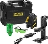 Linkový laser 360° + 2V, zelený paprsek  FMHT77617-1 (na Li-Ion baterie) Stanley - 1/7