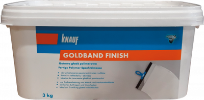 Finální stěrka Knauf Goldband Finish 3 kg