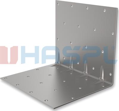 Úhelník 90° prolis typ 5 Hašpl 30x35x35x1,5 mm