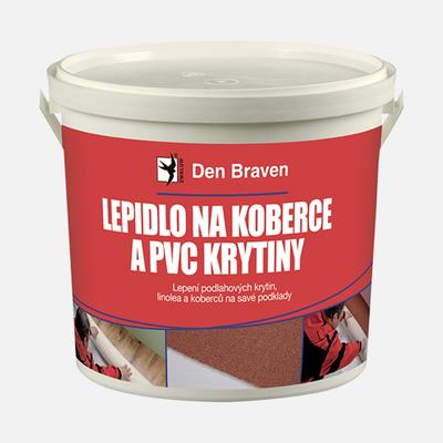 Lepidlo na koberce a PVC Krytiny Den Braven 5 kg
