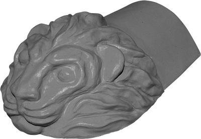 KM Beta hřebenáč koncový-lev višňový briliant