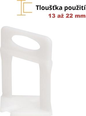 Spony Levelys 1 mm XL 100 ks