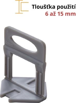 Spony Levelys 4 mm 100 ks