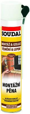 Montážní pěna polyuretanová Soudal 750 ml