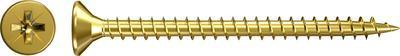 Vrut do dřevotřísky Fischer FSPII CZF 4,0x35 mm PZ2 celý závit 1000 ks