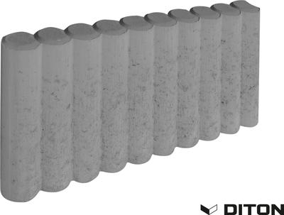 Obrubník palisádový DITON 50x6x25 mm přírodní