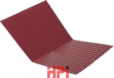 Pás úžlabí AL HPi 1600 x 500mm červenohnědý