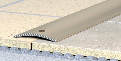 Přechodový profil šroubovací 30 mm 0,9 m hliník elox bronz