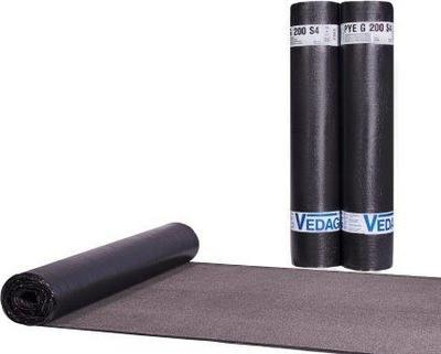 VEDATECT PYE G200 S4 mineral, tl.4mm, 7,5m2/role (150m2 pal)