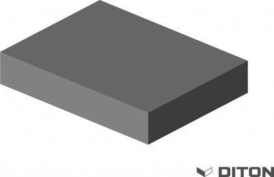 Plotový systém Diton Quick wall wood sloupková stříška dub tmavý