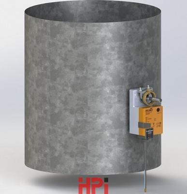 Regulační klapka elektrická K 8