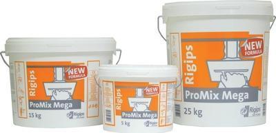 Pastový tmel Rigips ProMix Mega 15 kg