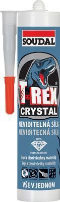 Montážní lepidlo Soudal T-REX CRYSTAL 290 ml