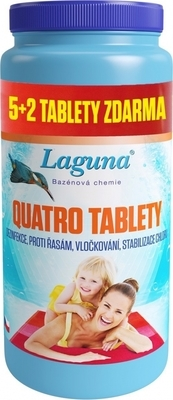 Laguna Quatro tablety Akce 5+2 zdarma