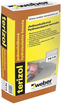 Terizol hydroizolační hmota Weber 20 kg