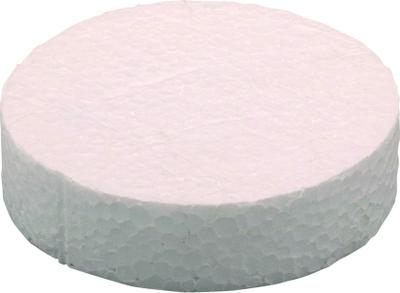 Polystyrenová záslepka KES šedá 63 mm