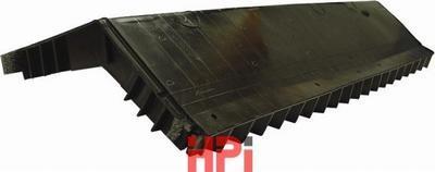 Větrací pás hřebene šindel RM 122cm x 29,5cm černý