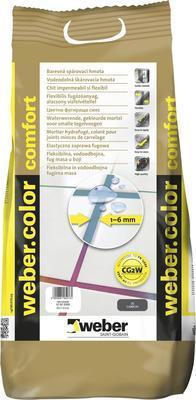 Spárovací hmota Webercolor comfort Cement 5 kg