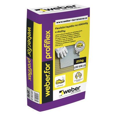 Weberfor profiflex (LD) C2T S1 nízkoprašné flexibilní lepidlo 25kg