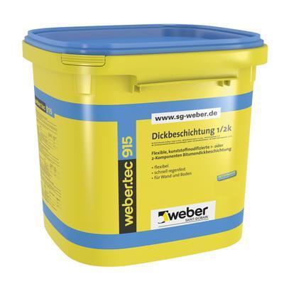 Weber.tec 915 bitumenová hydroizolační a lepící hmota  30 l