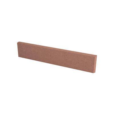 Obrubník záhonový DITON 50x5x20 cm půlka karamelový