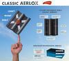 Classic PP AERLOX taška základní 1/1 rubínově červená - 2/2