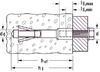 Kotva Fisher FPX M10-I do pórobetonu 25 ks - 2/2