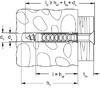Hmoždinka Fischer SX 5x25 mm 100 ks - 2/2