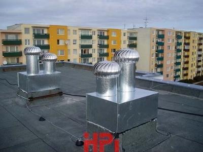 Ventilační turbína LOMANCO BIB- vnitřní osazení 101BIB14 - 3