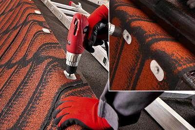 Střešní pás RDI 3D 11 červená, tl.4,2mm 10 m2/role, 180 m2/pal. - 5